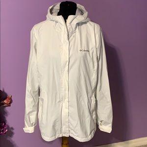 Women's Columbia rain jacket. XL
